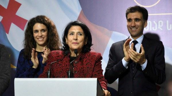 итоги выборов в Грузии