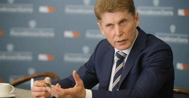 Фото победителя на выборах в губернаторы Приморского края 16.12.2018