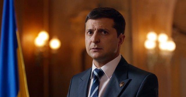 Фото кандидата в президенты Украины Зеленского