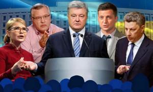 Рейтинг кандидатов в президенты Украины на сегодня (27.02.2019). Тройка лидеров