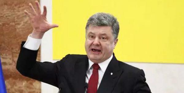 Нестандартный вид главы Украины