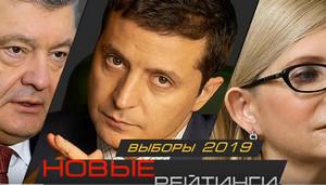 Рейтинг кандидатов Украины на сегодня. Результаты опроса на начало марта. Порошенко сдает позиции.