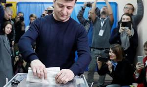 Первые результаты выборов на Украине