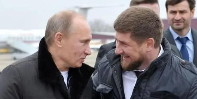 Встреча Кадырова и Путина