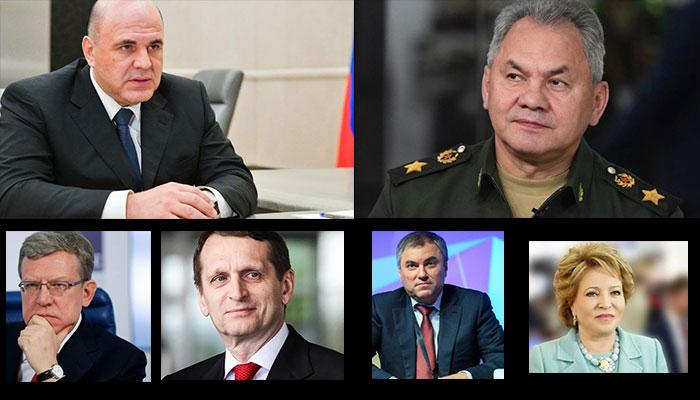 Возможные приемники Путина