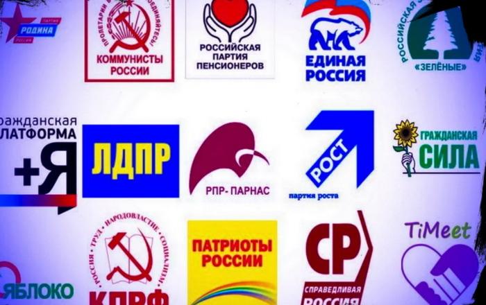 Партии на выборах 2021 в Госдуму
